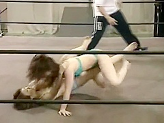 Japanese Bikini Catfight Wrestling
